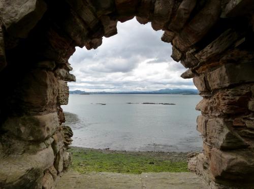 Edinburgh,le firth, la Forth, Inchcolm, phoques, macareux, ponts, Quenn's ferry