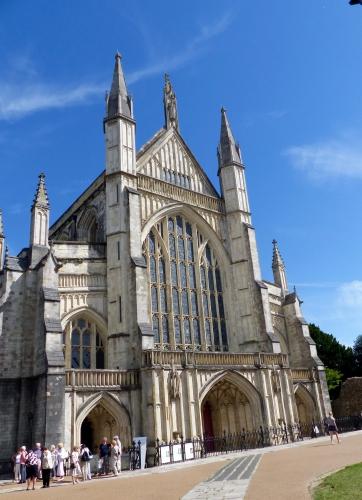 Winchester,cathédrale, Jane Austen
