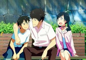 Makoto,shinkai,enfants,temps