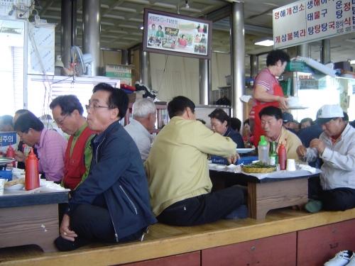 Pusan,Corée,Jagalchi,poissons,crustacés