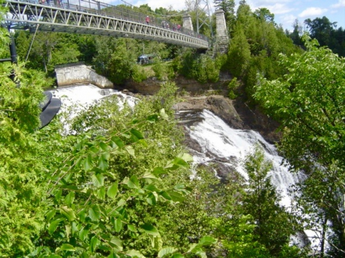 Québec, chute Montmorency