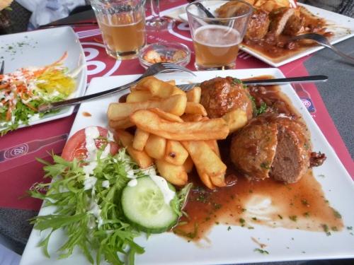 Liège, Belgique, Wallonie,boulets,liégeoise