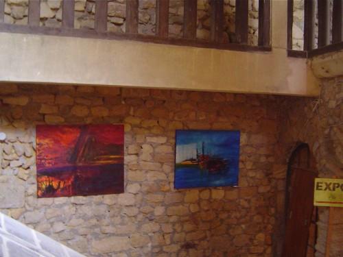 médiéval, grenier, sel, exposition, patrimoine, bellême, perche, peinture