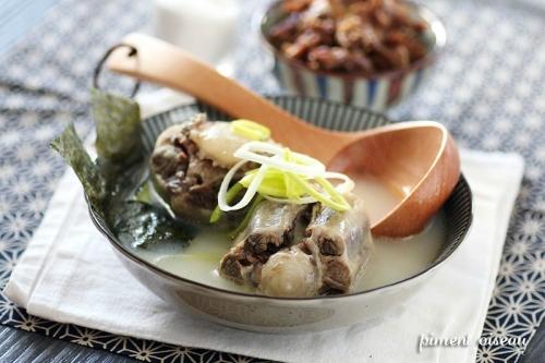 soupe,queue,bœuf,Corée