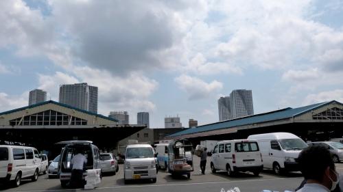 Tukiji, Hamarikyu,baie de Tokyo