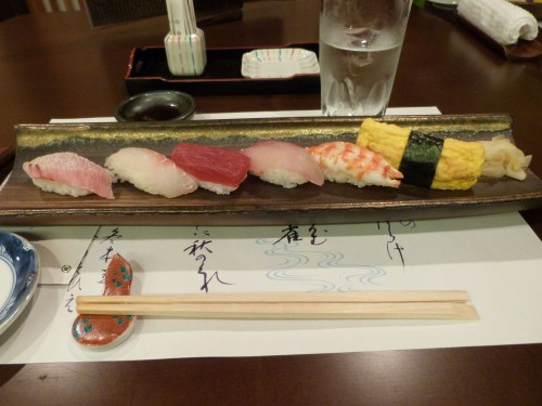 Japon, cuisine, poisson, sushis,