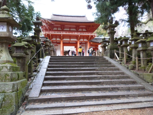 Japon, Uji, Kasuga,sanctuaire