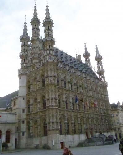 Louvain, Brabant, Université,Hôtel de ville,