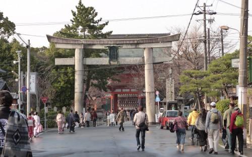Japon, Kyoto,Gion,Yasaka-jinja
