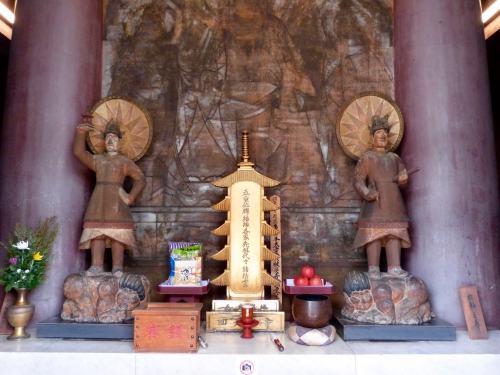 Osaka, Shitenno-ji,Gokuraku-jodo,pagode