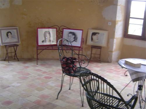 Tour, jardin, patrimoine, forêt, Bellême, exposition, peinture, Asie, portrait