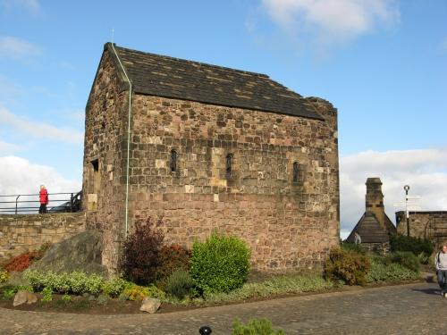 Edinburgh, Château, Ste Margaret