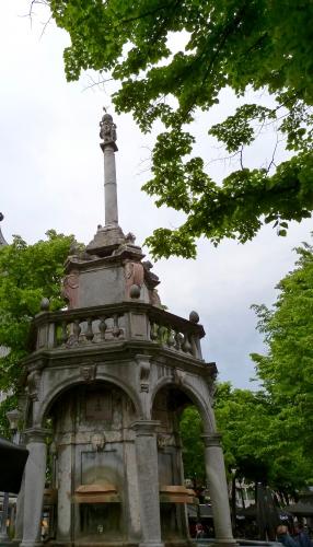 Liège, Belgique, Wallonie,perron