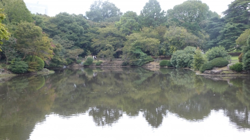 Shinjuku,gyoen,jardin,impérial