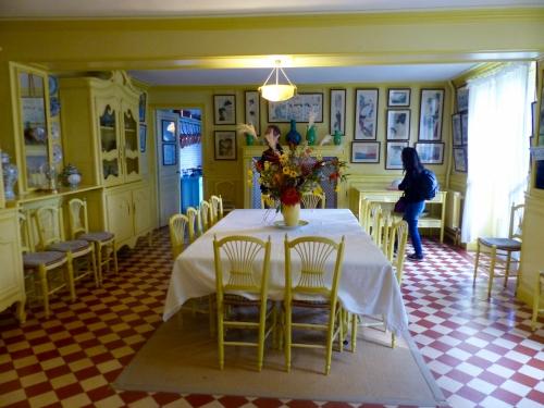 Giverny,Monet,maison