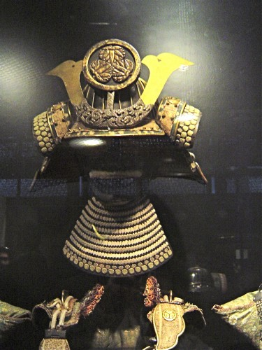 Samourai, Japon, guerrier, armure, Branly
