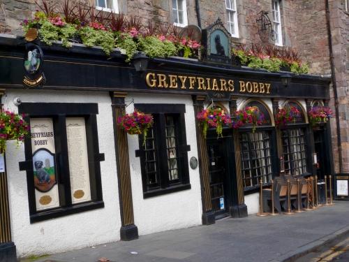 Edinburgh, Château, marché, Grayfriars Bobby