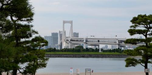 Tokyo, Odaïba, Rainbow bridge,