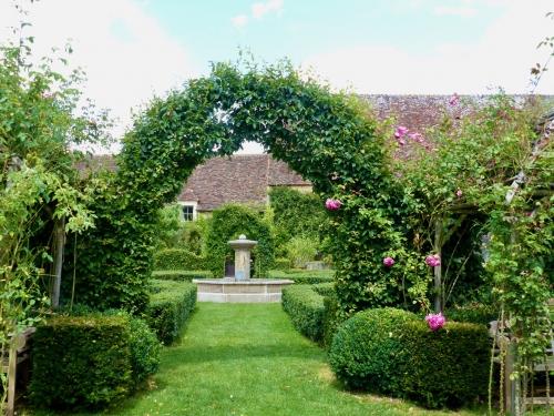 Jardin, Montperthuis, Chemilli, manoir, création