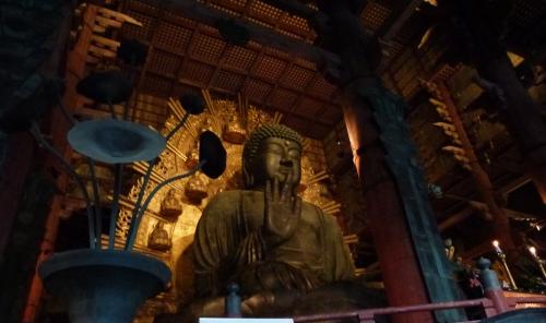 Japon, Nara, Todaiji,Bouddha,daibutsu-den