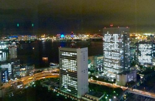 Tokyo, nocturne, gare,