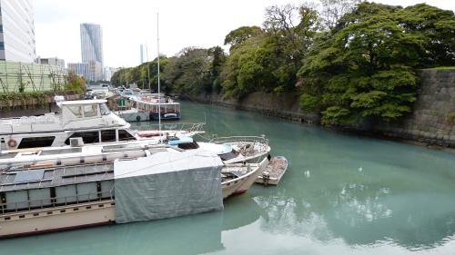 Tsukiji, Hamarikyu,baie de Tokyo