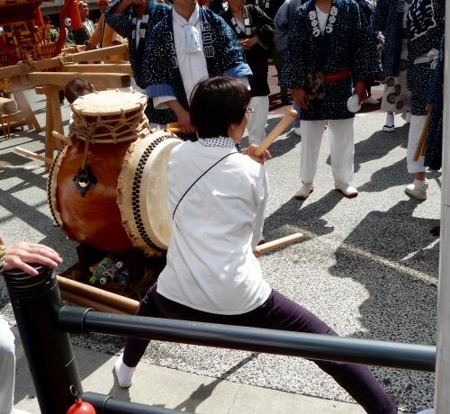 Ikebukuro,matsuri,taïko